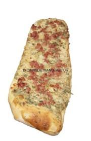 Dinnede - Brotfladen mit Schinken und Zwiebel